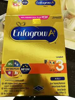 Enfagrow A+ Step 3 asli 600gx2
