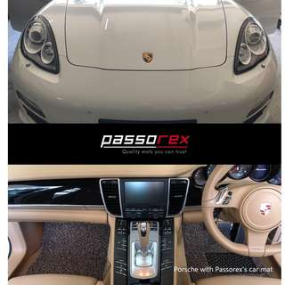 Carmats/Floormat/Drivermat Customisation for all car model - Porsche Panamera