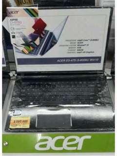 Kredit laptop Acer E5-475 bunga 0%