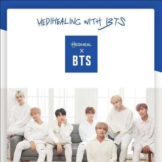 [INTEREST CHECK/WTS] MEDIHEAL x BTS MASK SET : HYDRATING