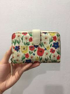 Cath kidston paradise field small wallet(authentic)