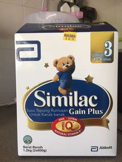 Similac Gain Plus 600gm