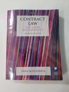 Contract Law Text, Cases, and Materials