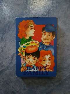 Happy Family Card Game