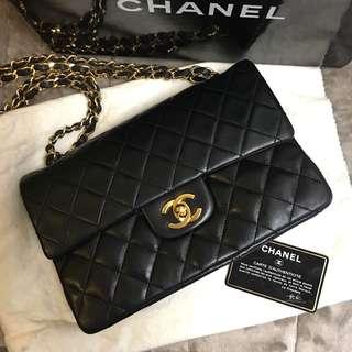 Chanel vintage bag  double flag