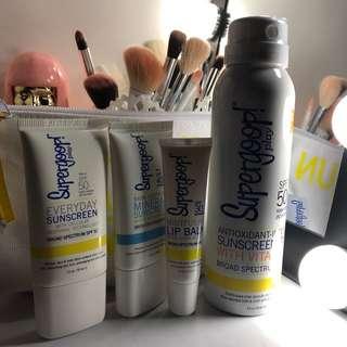Supergoop! Sunscreen Bundle (TAKE ALL)