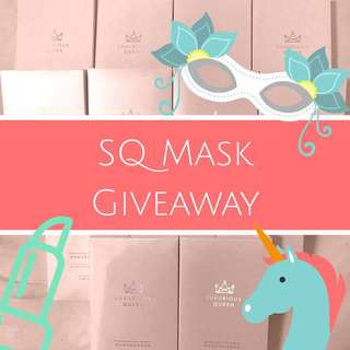 💥SQ MASK GIVEAWAY 💥