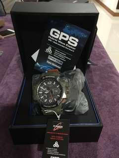 BNIB GPW-1000KH-3A GravityMaster GPS Hybrid Wave Ceptor Watch
