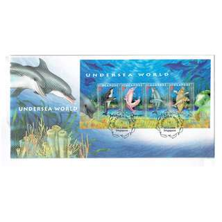 FDC #09   Undersea World