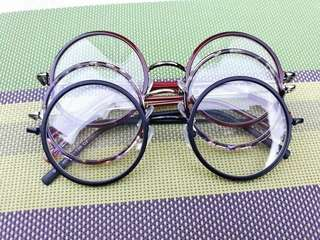 Glasses (harry potter replica and etc.)