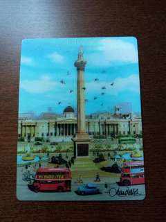 3D Postcard of Trafalgar Square