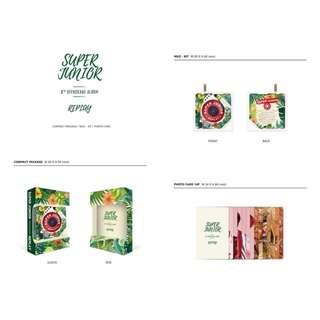 SUPER JUNIOR 8th Album Repackage REPLAY KIHNO EDITION