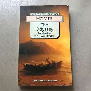 Homer The Odyssey - translated by T.E. Lawrence
