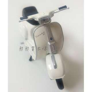 <現貨> 美馳圖1/18偉士牌Vespa 赫本復古摩托車 仿真合金踏板摩托車模型 實物拍攝