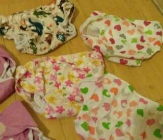 Reusable baby cloth diapers All 7 for RM50