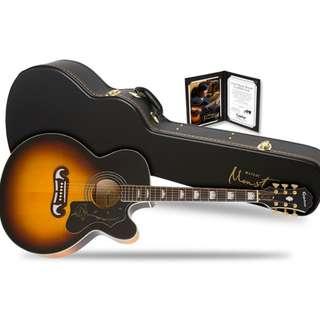 Epiphone Monster EJ-200SCE 五月天 怪獸代言木吉他 硬盒附全套配件