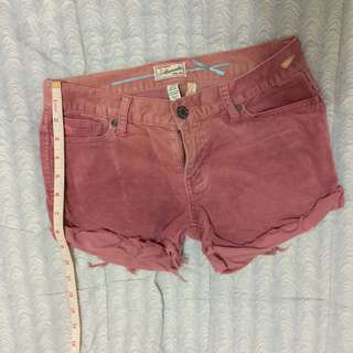 Abercrombie & Fitch DIY shorts
