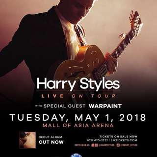2 HARRY STYLES GA TICKETS for only 5000
