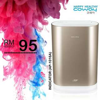 Brand New Coway up to1600ft Air Purifier