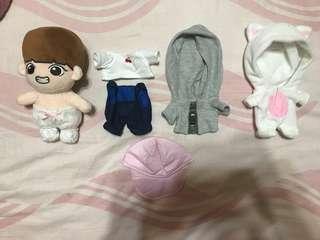 BTS防彈少年團 娃娃 泰蹦整組