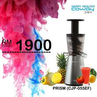 Brand New Coway Slow Juicer 32Rpm Dc Motor