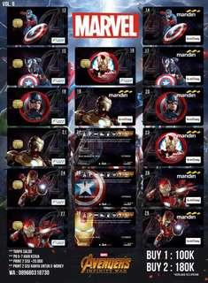 E-money / Flazz BCA Avengers Infinity War