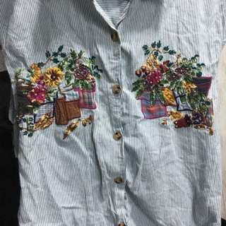 Button down S-M