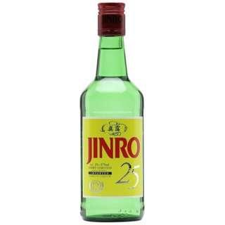 Jinro 25 Soju 韓國真露25度燒酒
