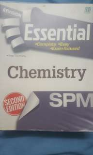 Essential revision book for chemistry