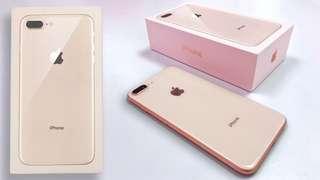 Apple iPhone 8 Plus 64 Gold New Garansi Internasional (Kredit Tanpa CC) Low Dp