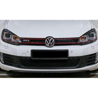 Volkswagen Golf 6 HID Xenons, GTI style