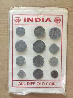 印度舊版硬幣全套 錢幣愛好者必備(India old coins)
