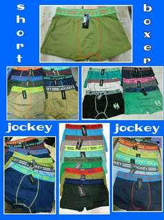 Boxer shorts/ Briefs