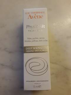 Physiolift eye cream
