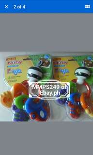NUBY FUNKEYS SOOTHING TEETHER FROM USA