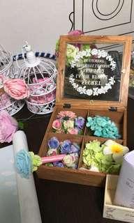 婚禮物資佈置木盒飾物盒