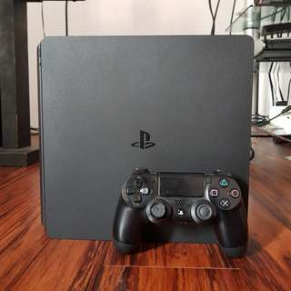 Sony PS4 Slim 500GB Jet Black