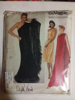 Vogue Edith Head Pattern 2832