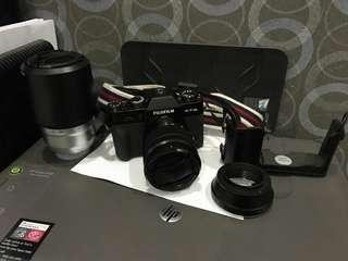 Fujifilm xt10 black fullset