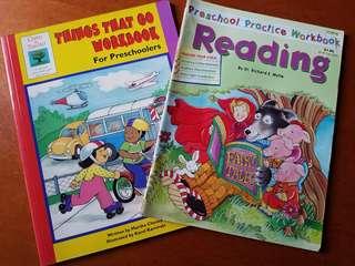 2本適合學齡前兒童的拼音識字故事活動書