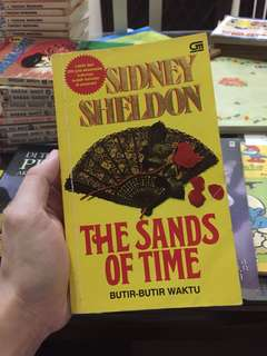Novel: The Sands of Time by Sidney Sheldon (Indonesia)