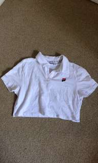 Fila cropped shirt