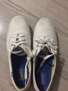 Keds Canvass White Sneakers