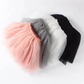 Instock - flufff tutu skirt, baby infant toddler girl children cute glad 123456789 lalalala