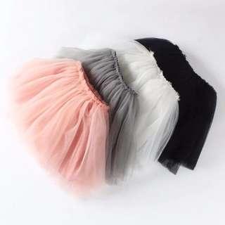 Instock - flufff tutu skirt, baby infant toddler girl children cute glad 123456789 lalalala