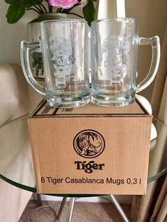 Tiger Beer Mugs