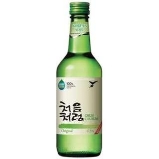 Lotte Chum Churum Korean Soju 韓國樂天初飲初樂燒酒