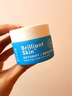 USED Sand & Sky - Brilliant Pink Clay Mask