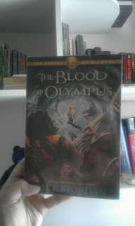 The Blood of Olympus - Rick Riordan (Soft Bound)