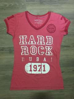 Hard Rock Cafe Dubai Women T-Shirt